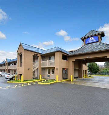 Americas Best Value Inn Seattle-Tacoma- Tourist Class