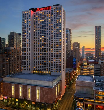 Chicago Marriott Dtwn Magnificent Mile First Class Chicago