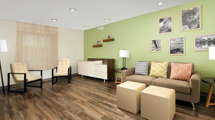 WoodSpring Suites Providence Lobby