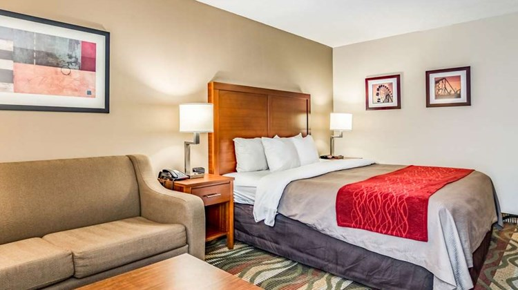 Comfort Inn & Suites Room