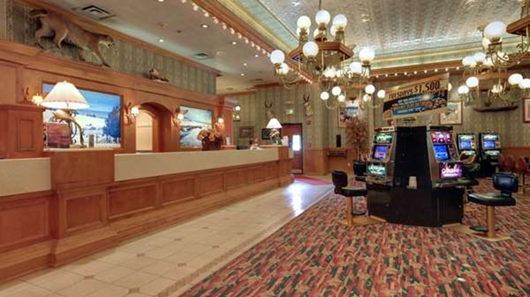 Americas Best Value Gold Country Inn Lobby