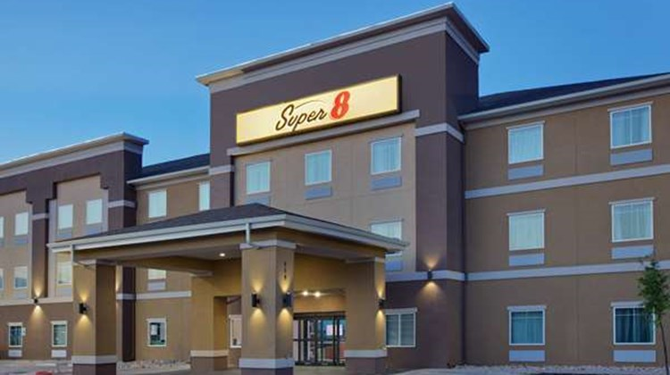 Super 8 Midland South Exterior