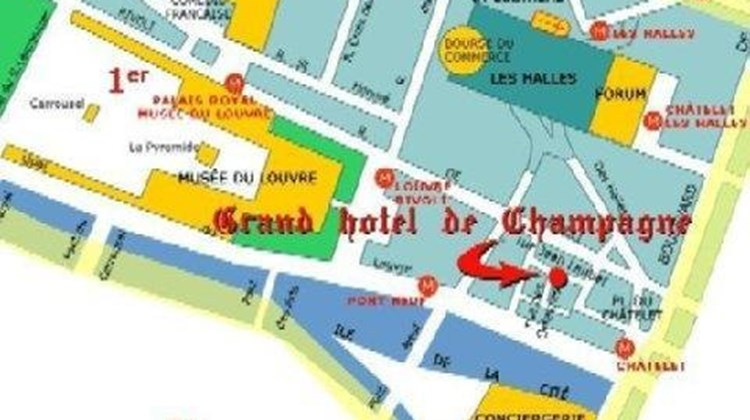 Grand Hotel Dechampaigne Paris Other