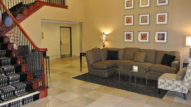 Best Western Town & Country Lodge Lobby