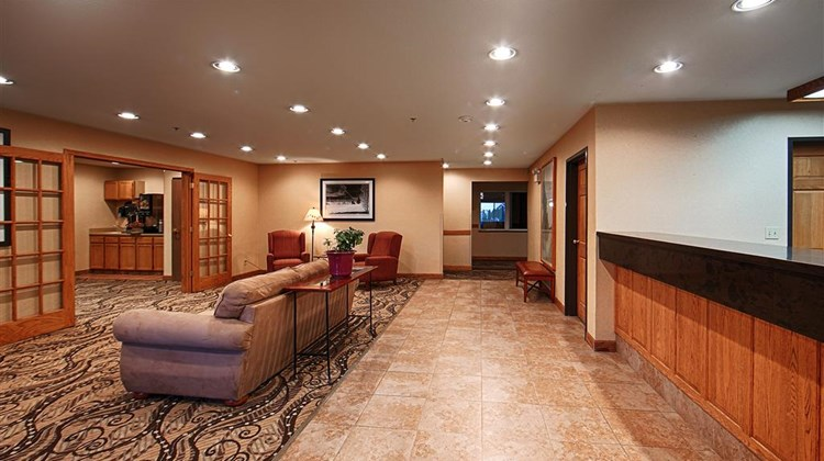 Best Western Blackfoot Inn Lobby