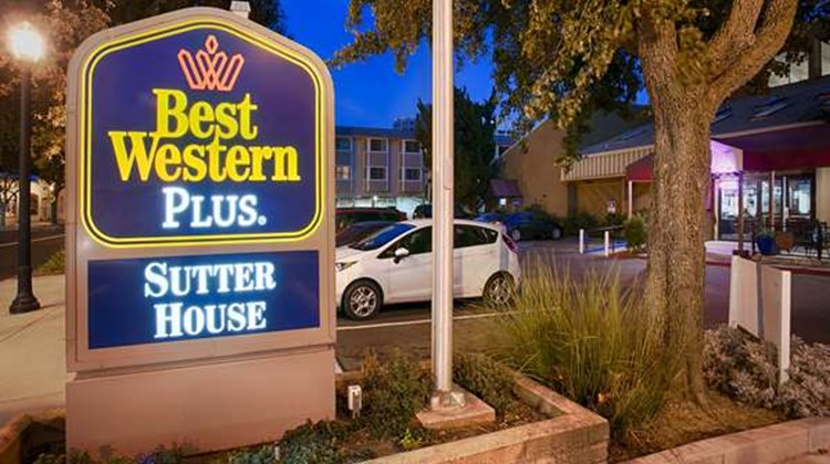 Best Western Plus Sutter House Exterior