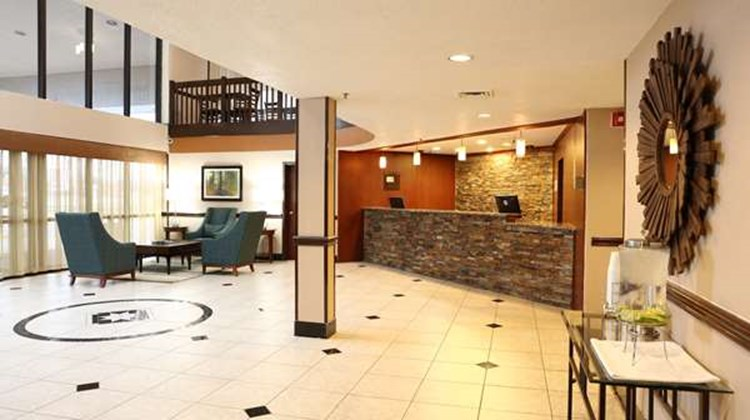 Best Western Hospitality Hotel & Suites Lobby