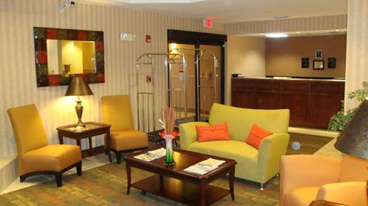 Best Western Laurel Inn Lobby