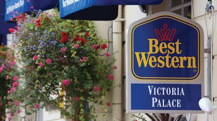 Best Western Victoria Palace Exterior