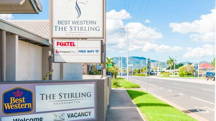 Best Western The Stirling Rockhampton Exterior