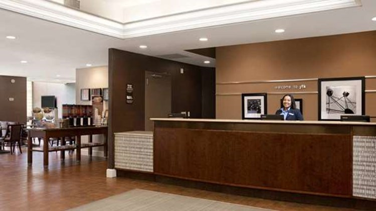 Hampton Inn JFK Airport Lobby