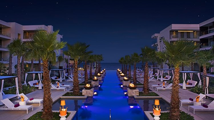 Breathless Riviera Cancun Resort & Spa Pool