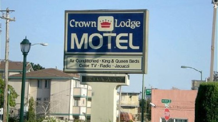 Crown Lodge Motel Oakland Exterior