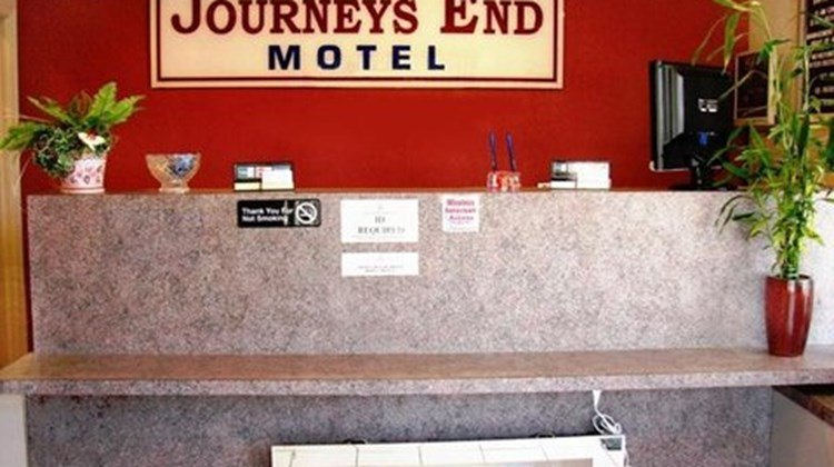 Journey's End Motel Lobby