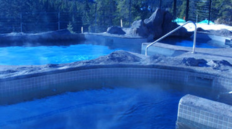 Banff Hidden Ridge Resort Condo Pool