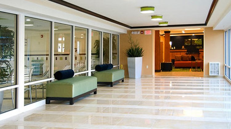Fairfield Inn & Suites Plainville Lobby
