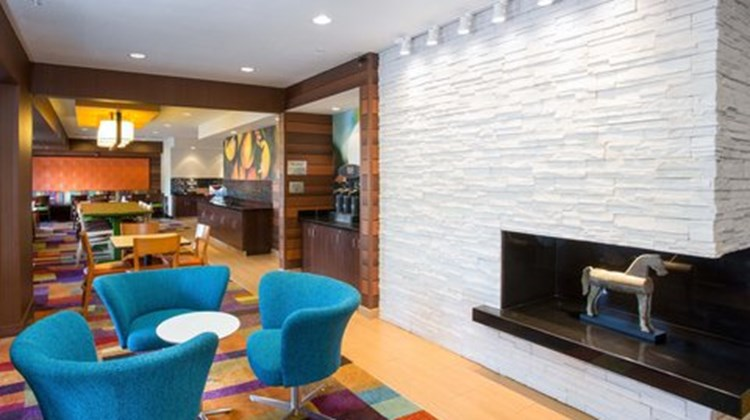 Fairfield Inn by Marriott Terre Haute Lobby