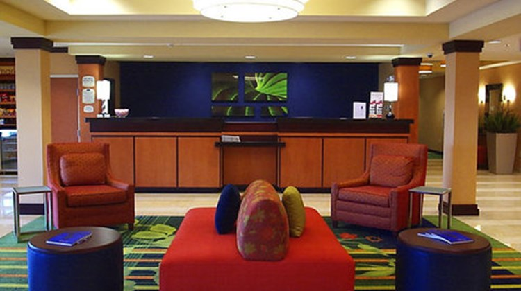 Fairfield Inn & Suites Seymour Lobby