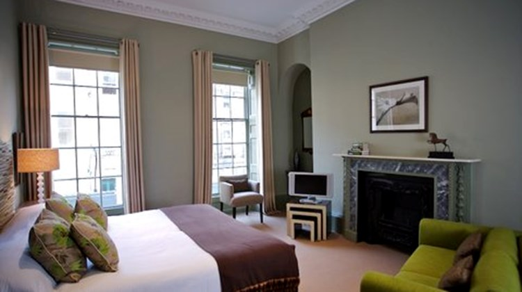 The Queensberry Hotel Room