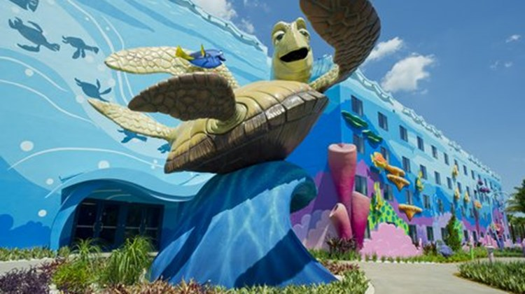 Disney's Art of Animation Resort Exterior