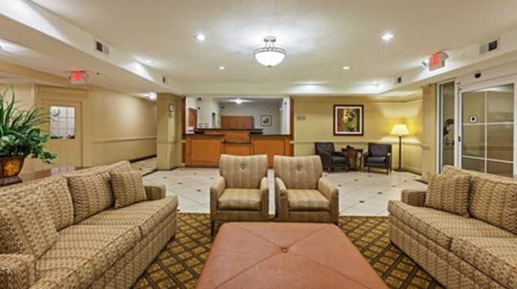 Candlewood Suites Texas City Lobby