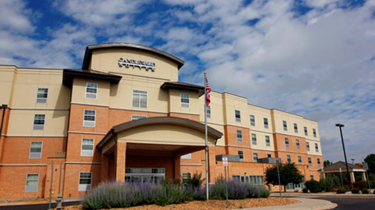 Candlewood Suites Meridian Business Ctr Exterior