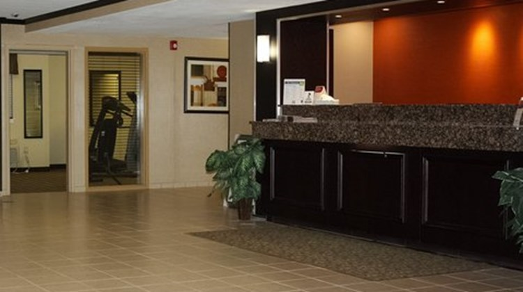 MainStay Suites Coralville Lobby