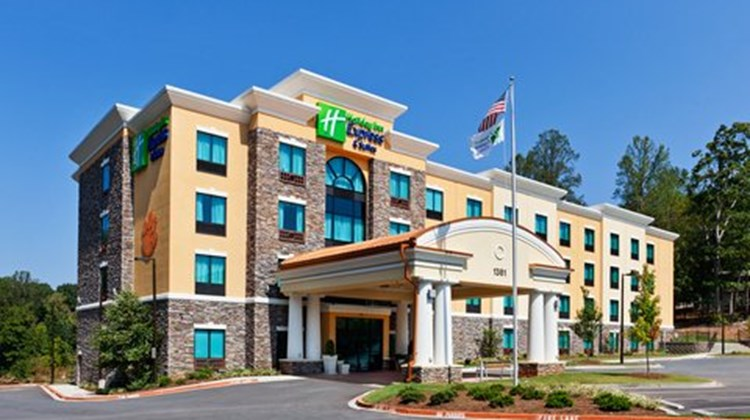 Holiday Inn Express Htl & Stes Univ Area Exterior