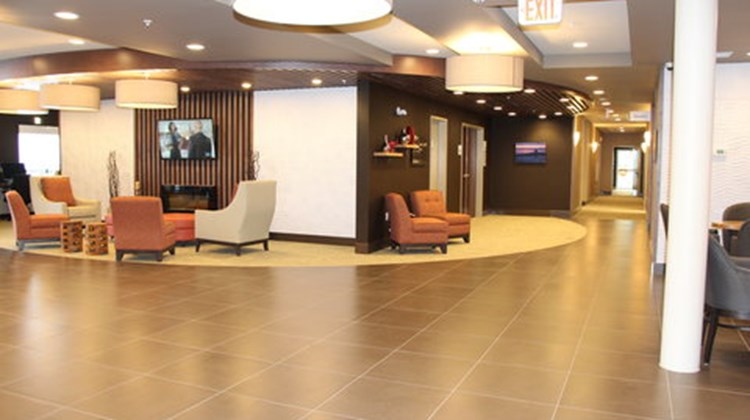 Holiday Inn Express & Suites Cold Lake Lobby