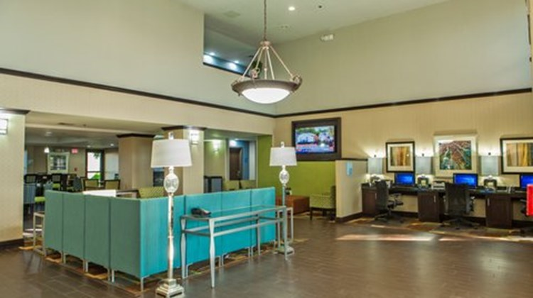 Holiday Inn Express Harlingen Lobby