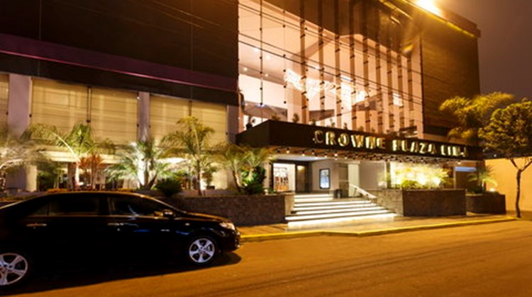 Crowne Plaza Lima Hotel Exterior