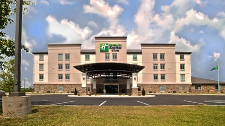 Holiday Inn Express/Suites Evansville N Exterior
