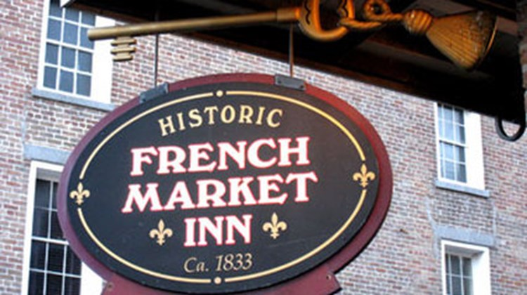 Historic French Market Inn Exterior
