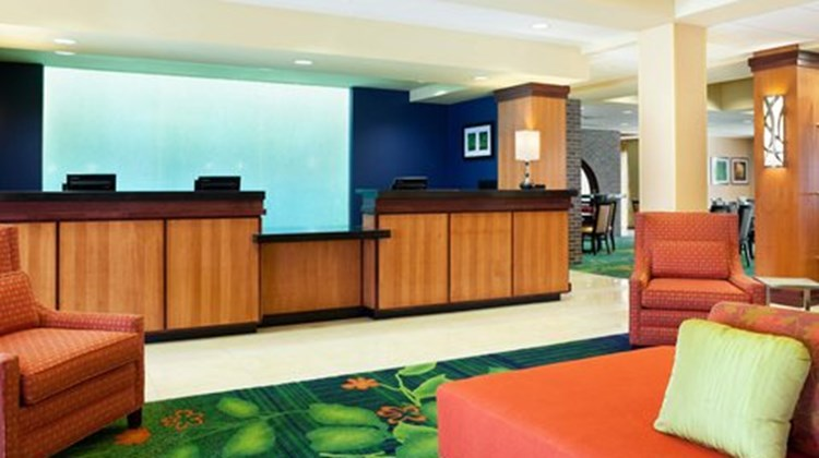 Fairfield Inn & Suites Wichita Downtown Lobby