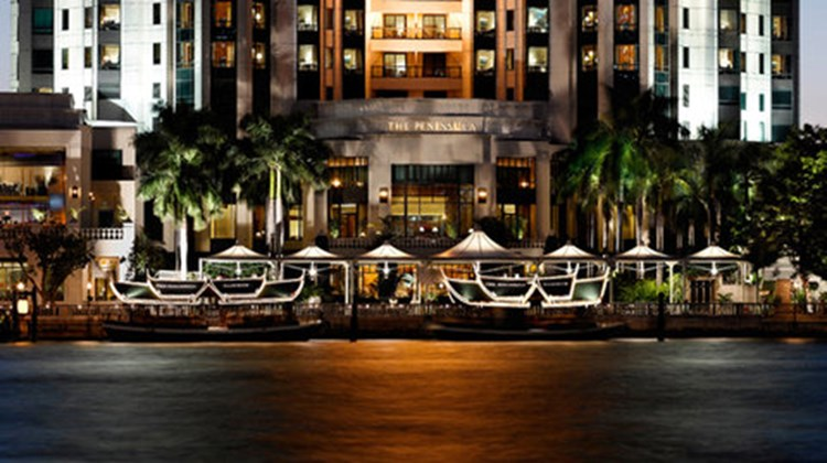 The Peninsula Bangkok Exterior