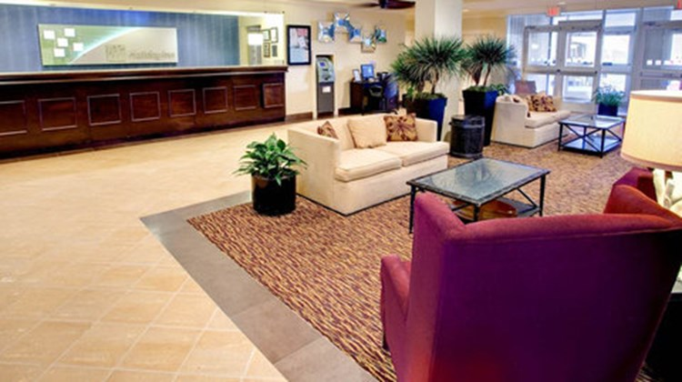 Holiday Inn Oceanfront at Surfside Beach Lobby