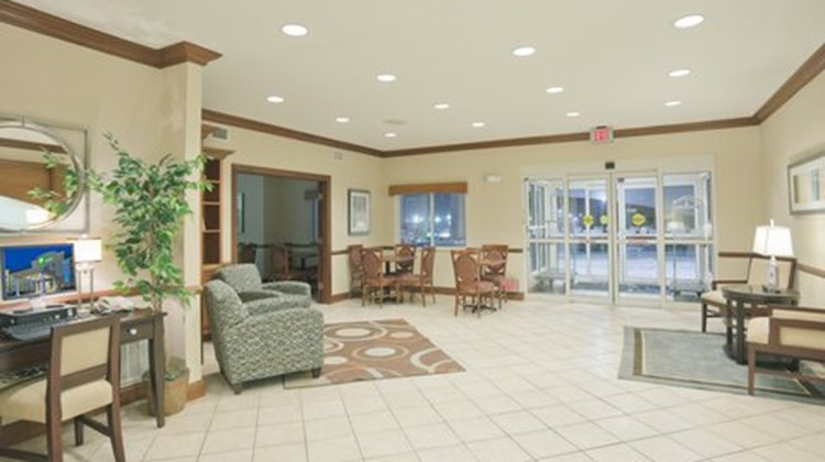 Holiday Inn Express Evansville West Lobby
