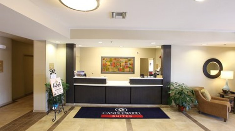 Candlewood Suites St Joseph Lobby
