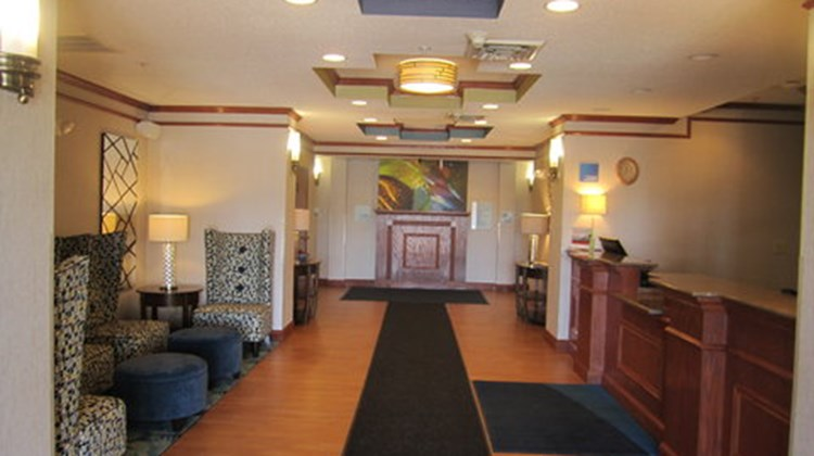 Holiday Inn Express & Suites Dubois Lobby