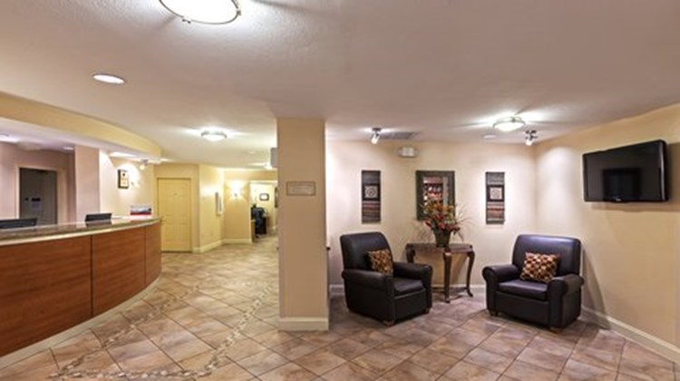 Candlewood Suites Market Center Lobby