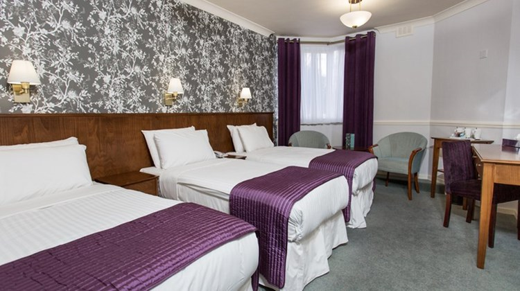 The Clarendon Hotel Room