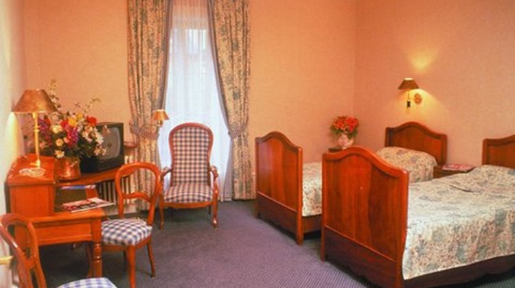 Hotel Croix Blanche Room