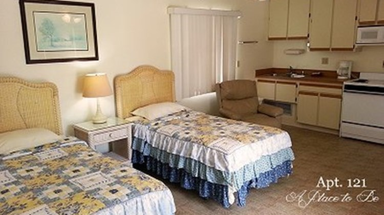 A Place To Be Motel Room
