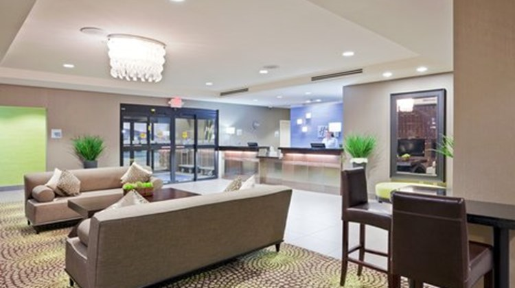 Holiday Inn Express and Suites Hays Lobby