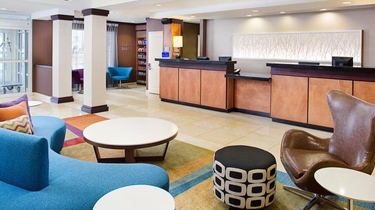 Fairfield Inn & Suites Jonesboro Lobby
