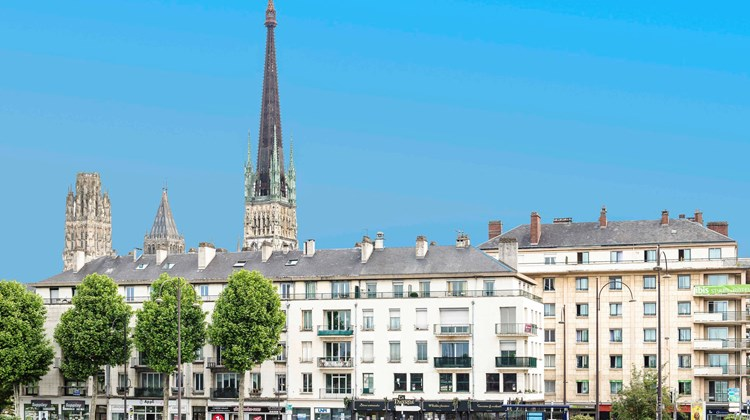 Ibis Styles Rouen Centre Cathedrale Exterior