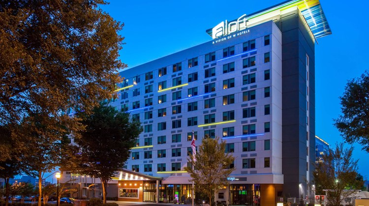 aloft Atlanta Downtown Exterior