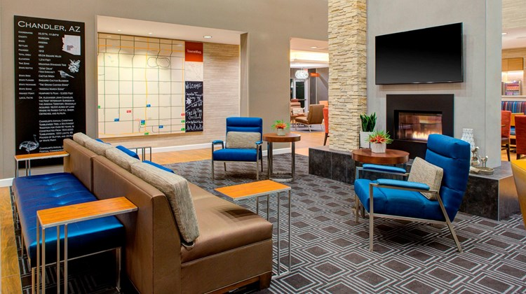 TownePlace Suites Phoenix/Chandler Lobby