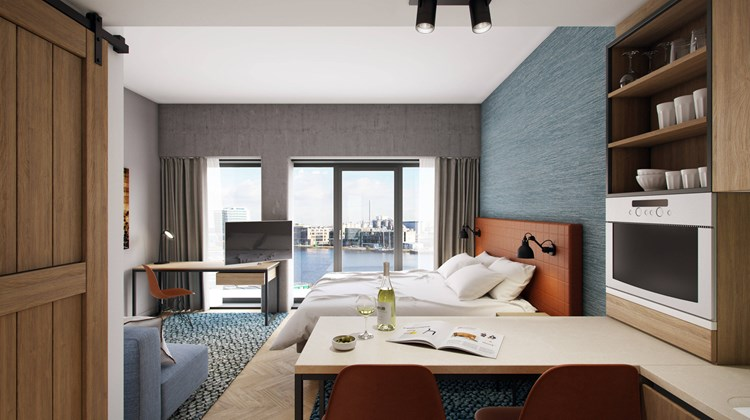Residence Inn Amsterdam Houthavens Suite