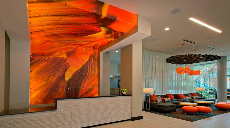 SpringHill Suites Denver Downtown Lobby